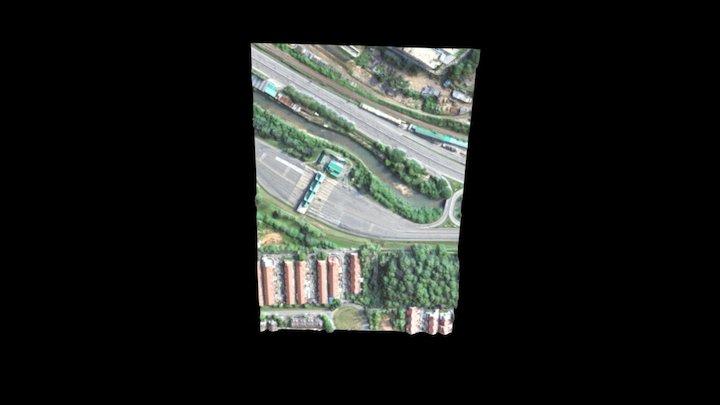 SG BULOH TOLL PLAZA 3D Model