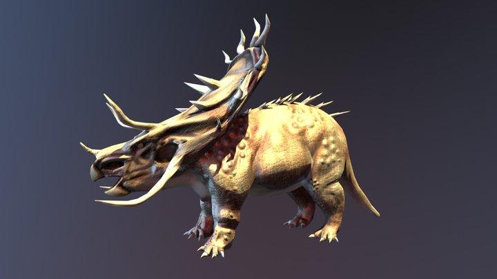 Tricerátops 3D Model