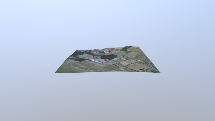 Final Hungaroring 3D Model