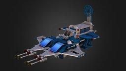6980 Galaxy Commander 3D Model