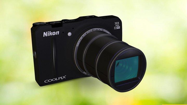 NIKON COOLPIX S9700 [BLACK EDITION]  3D Model