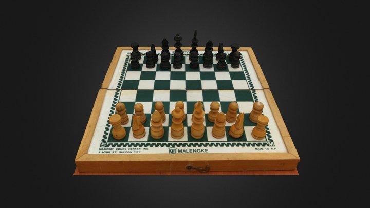 Chess #3DST45 3D Model