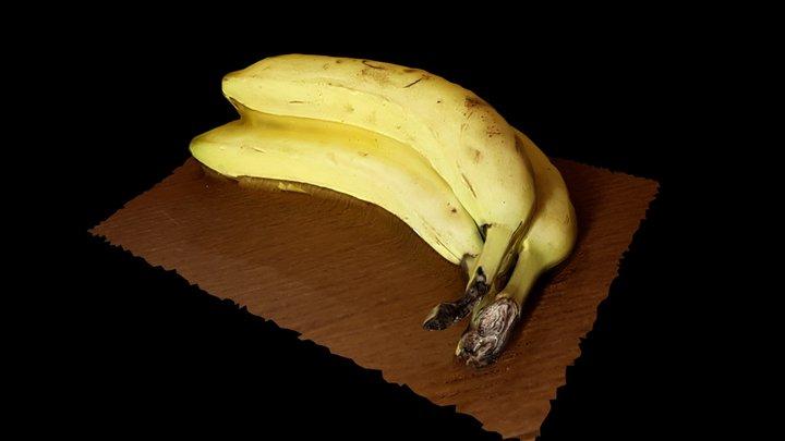 Test Banane 3D Model