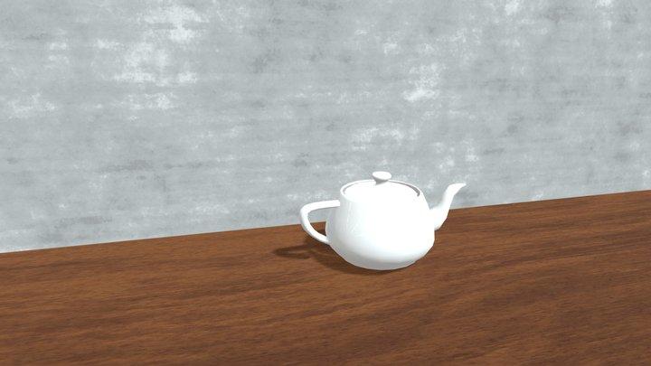 Teapot_Scene 3D Model