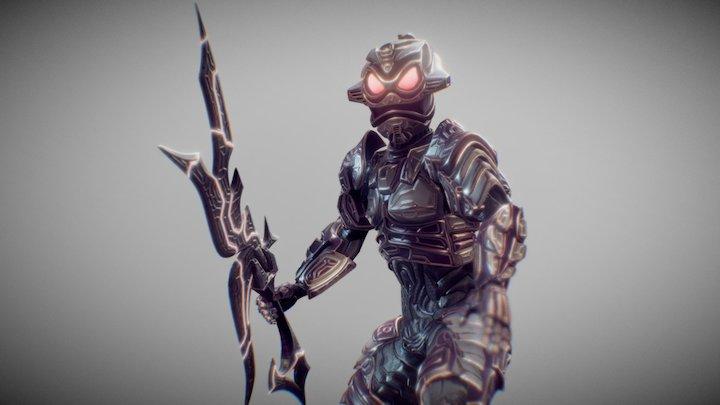 Royal Enforcer Animation 3D Model