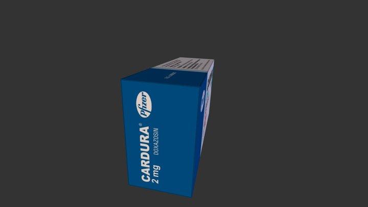 Cardura 2 mg 3D Model
