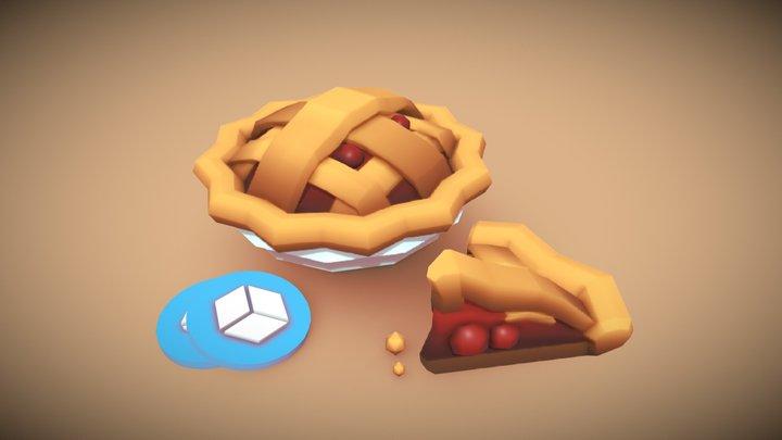 3December Day 8: Pie 3D Model