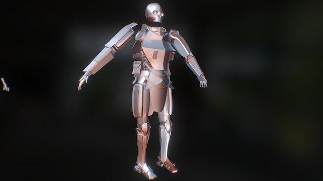 Knight Mech 3D Model