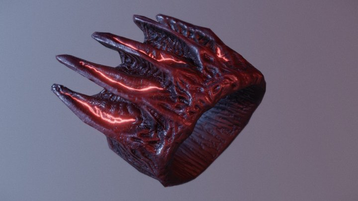 Relic Ring - Ascend 3D Model