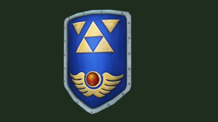 Lo Z Shield 3D Model