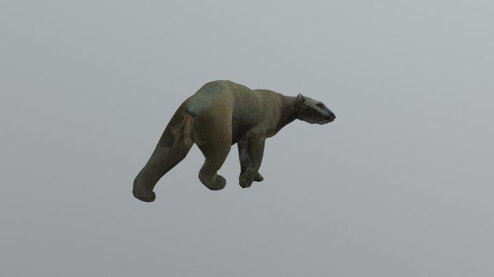 Bear D Posed 0000 3D Model