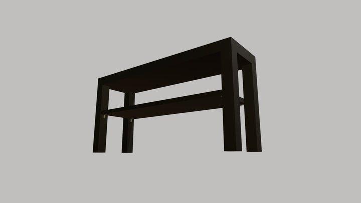 IKEA LACK TV Bench - 90x26x45cm 3D Model