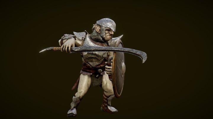 Goblin Soldier 3D Model