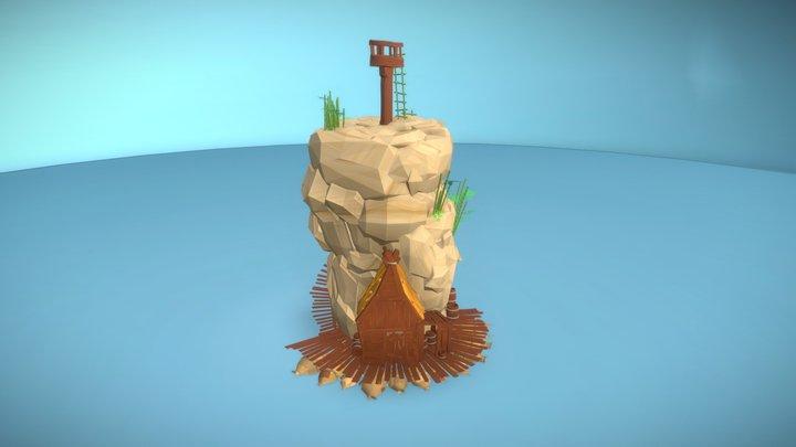 Bootlegger's Bay - Battle of the Islands! 3D Model