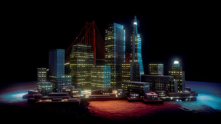 San Francisco City 3D Model