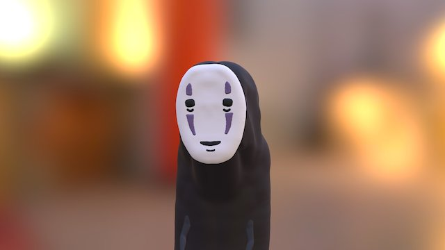 Spirited Away: No-Face 3D Model
