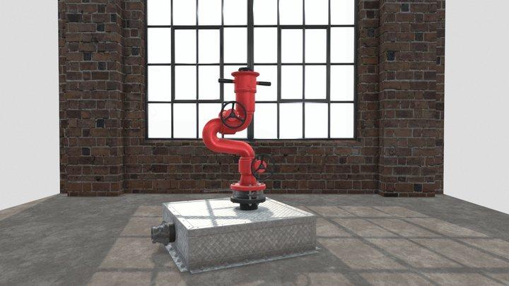 Water Cannon 3D Model
