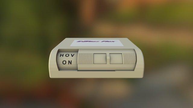 E-ZPass Flex 3D Model