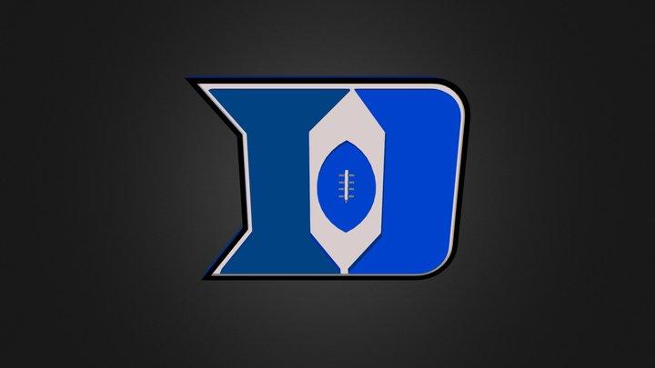 Duke-football 3D Model