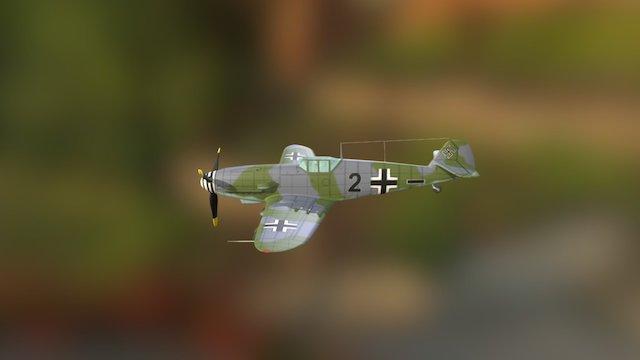 Bf109 3D Model