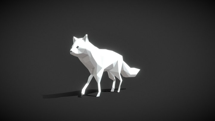 #3December - Arctic Fox 3D Model