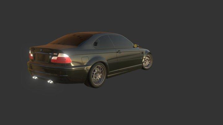BMW M3 E-46 3D Model