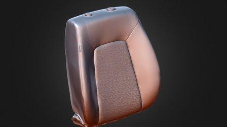 KIA carseat 3D Model