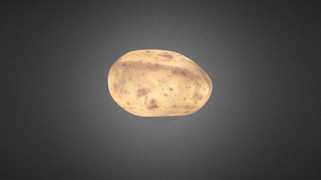 Potato 3D Scan 3D Model