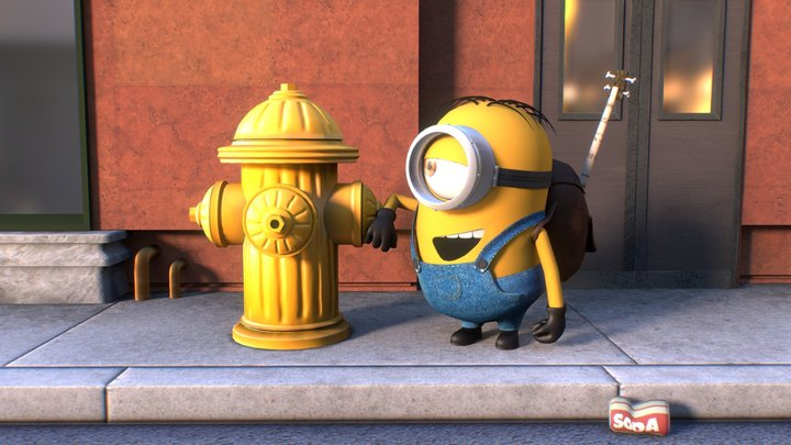 Love At First Sight 3D Model