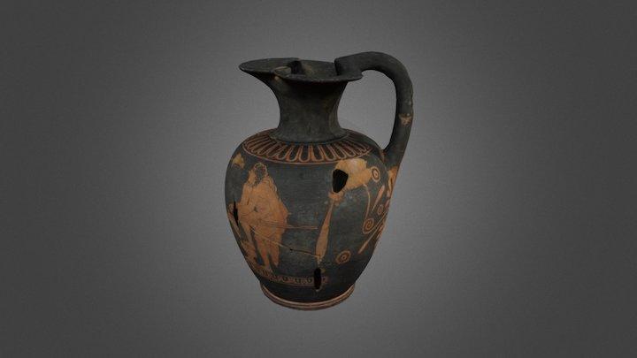 MAM - Pieza griega: Oinochoe 3D Model