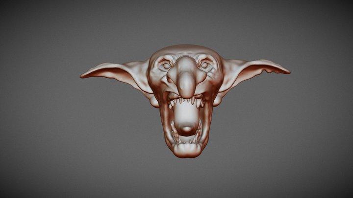 Paul Bonner Goblin 3D Model
