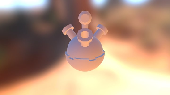 Phantasm Ball 3D Model
