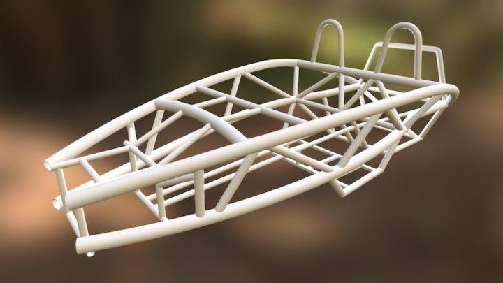 Mud Cars - Ariel Atom Cage 3D Model