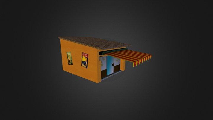Examen 3D Groenten Winkel 3D Model