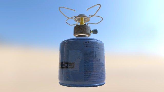 Gasvuur 3D Model
