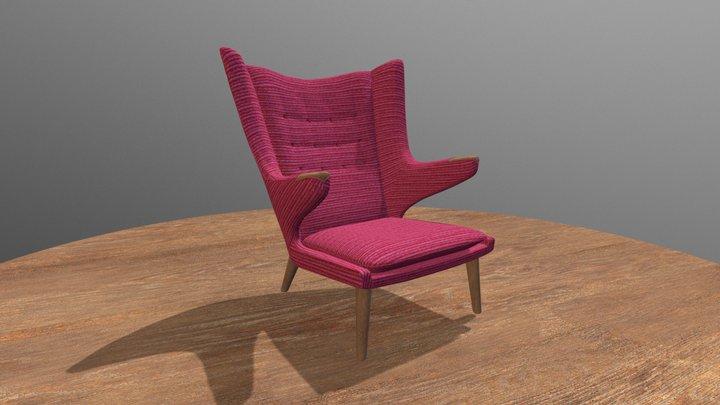 Papa Bear Chair 3D Model