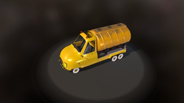 PickUp Cistern 3D Model