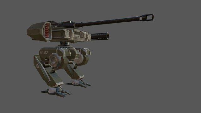 Mech Concept 3D Model