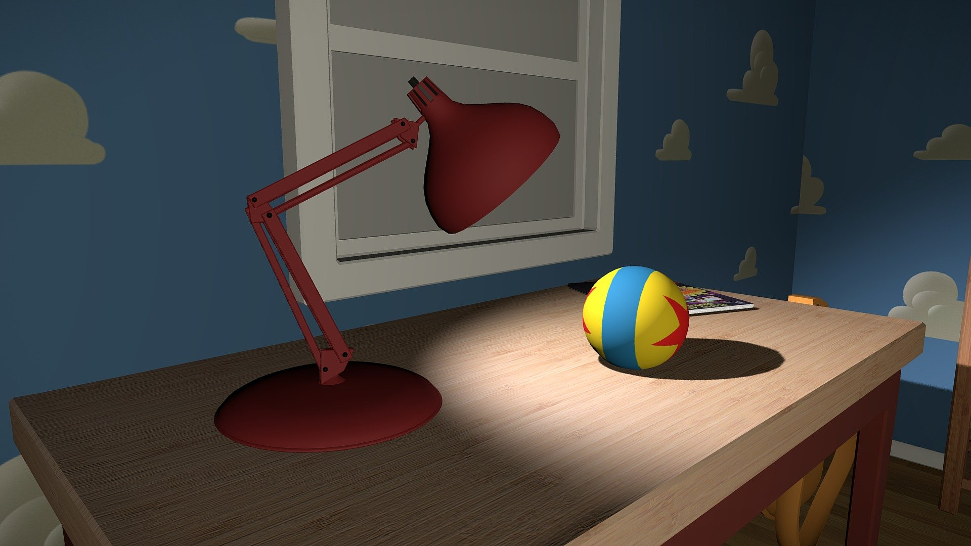 Andy's Room - Download Free 3D model by Alberto ...