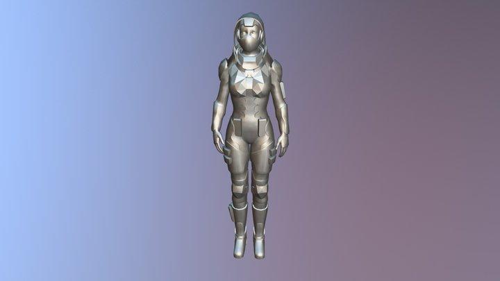 Future Assassin 3D Model