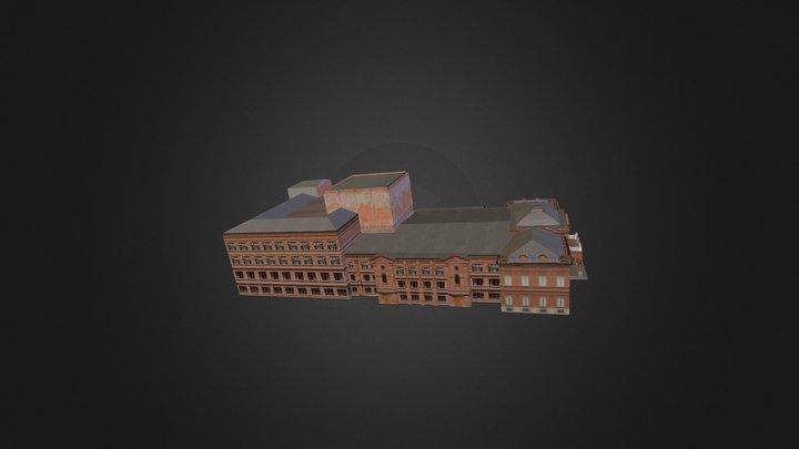 Ufa_Theatre_Operu_Baleta 3D Model