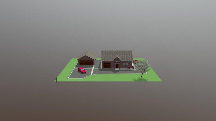 Projekt 2 Tomasz Surówka 795 852 808 3D Model