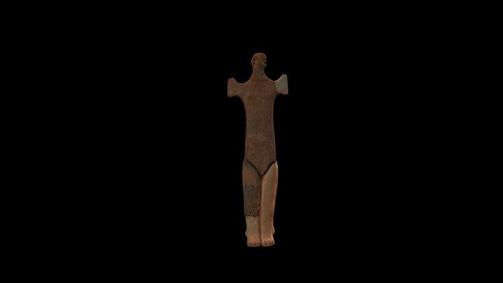 Idol antropomorf 11288 3D Model