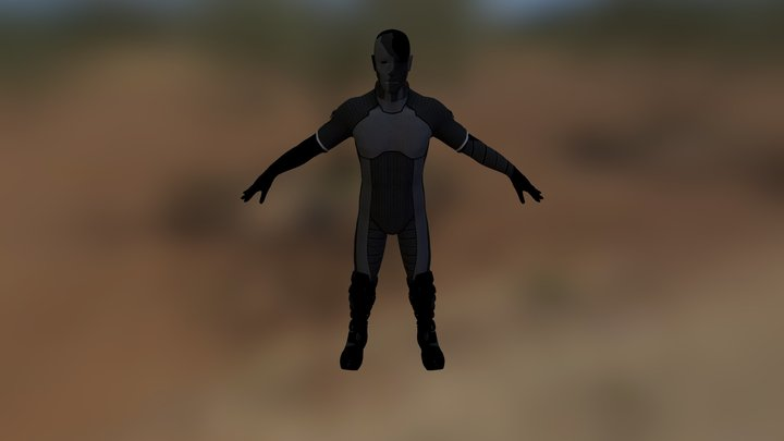 man_celistic 3D Model