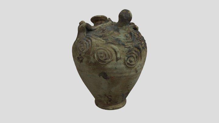 Roman Baby Bottle 3D Model