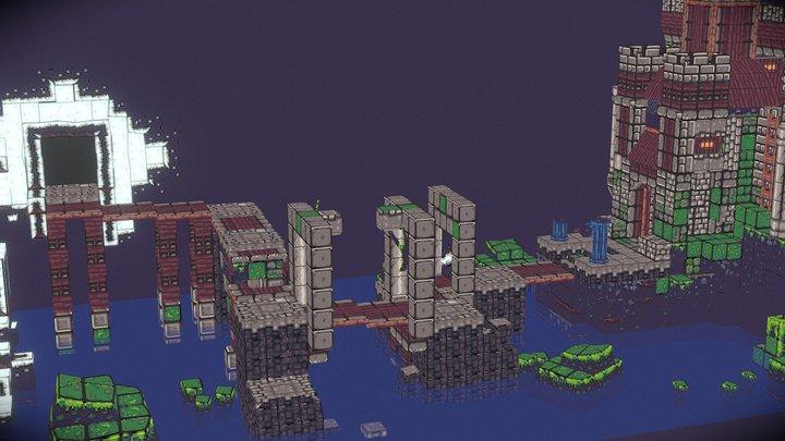 Goblin Cave 3D Model