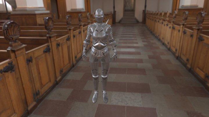 Platearmor Final 3D Model