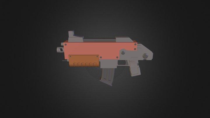 Warhammer 40K Bolter Pistol 3D Model