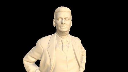 Bata Bronze 3D Model