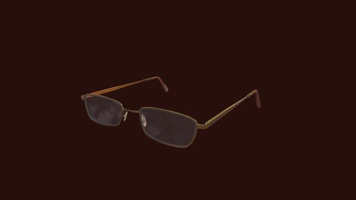 Glasses 01 3D Model